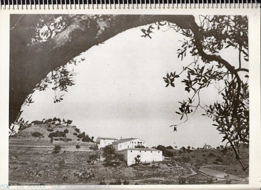 Les Planes_1930.Fons: arxiu Les Planas